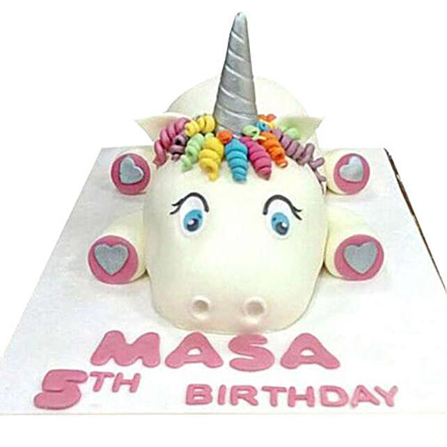 Cow Cartoon Cake