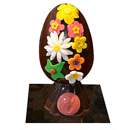 Easter Flower Chocolate