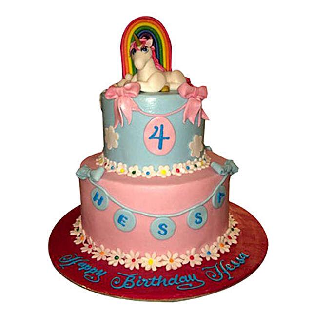 Elegant Pony Cake