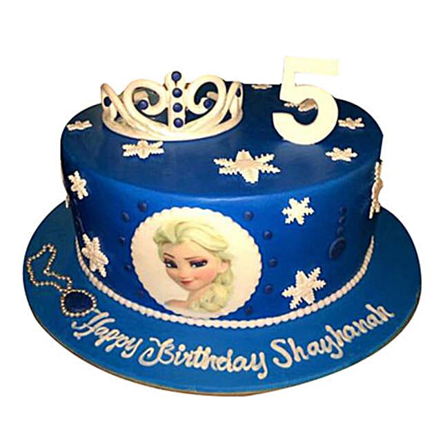 Elsa Disney Cake