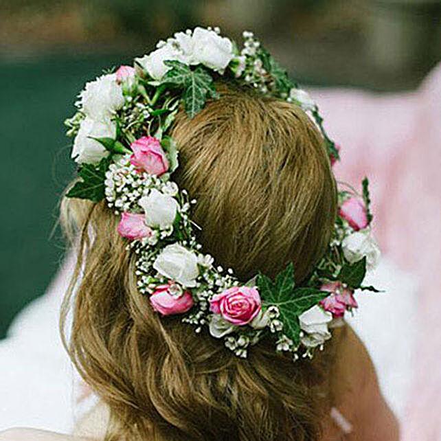Gorgeous Floral Tiara