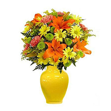 Keep Smiling Mixed Bouquet Deluxe