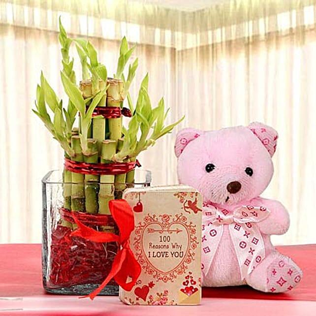 Lucky Bamboo and Bear Love