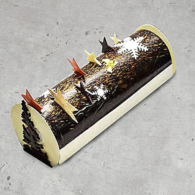 Mikado Christmas Log Cake 4 Portions