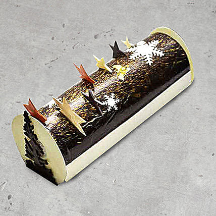 Mikado Christmas Log Cake 8 Portions