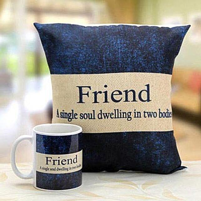 Mug N Cushion for Best Friends