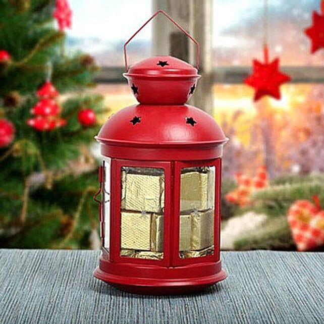 Red Lantern n Chocolates for Valentine
