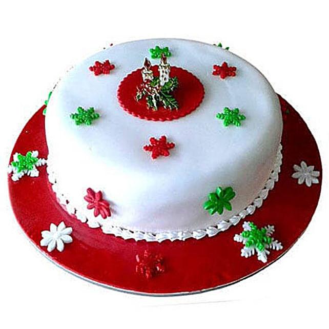 Rosy Delight Cake