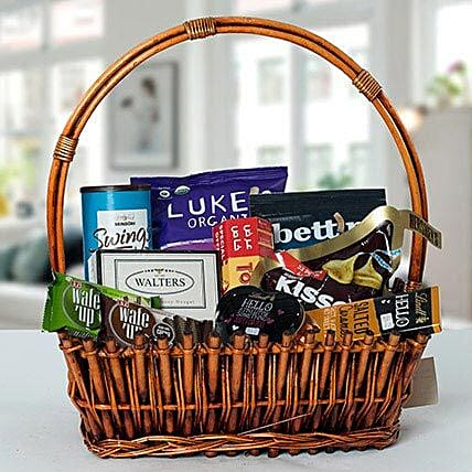 Small Basket Chocolate Wonder