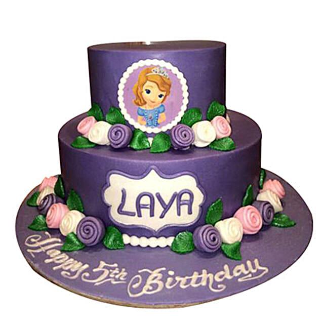 Sofia N Roses Cake