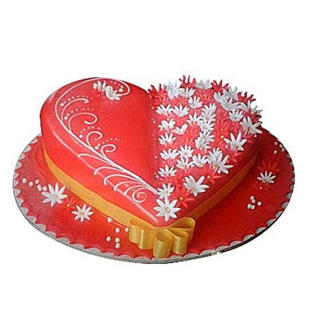 Spectacular Heartshape Cake