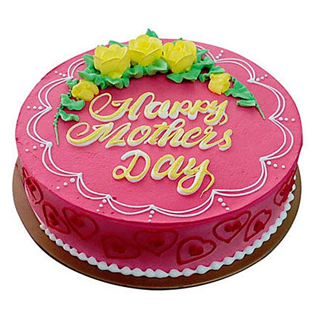 Strawberry Cake for Mom
