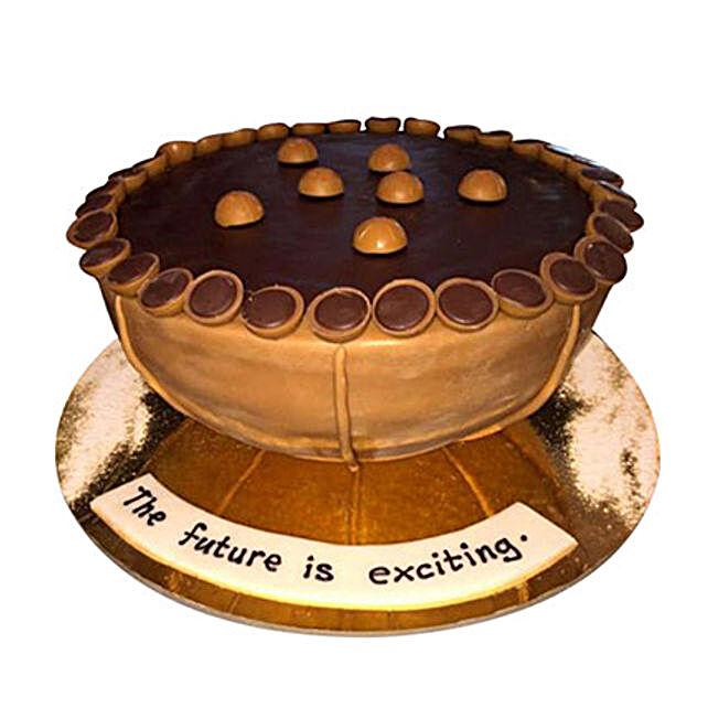 Toffee Birthday Cake
