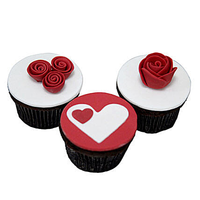 Valentine Cup Cakes