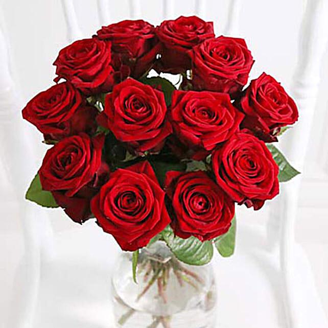A Dozen Luxury Naomi Roses