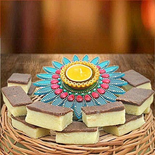 Designer Diya N Chocolate Barfi