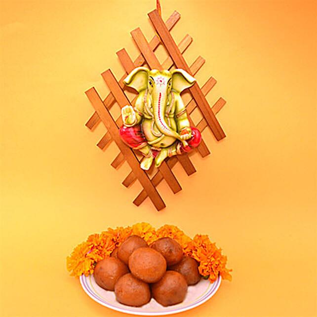 Ganesha Wall Hanging Diwali Combo