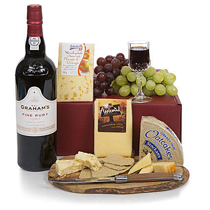 Port and Cheese Selection