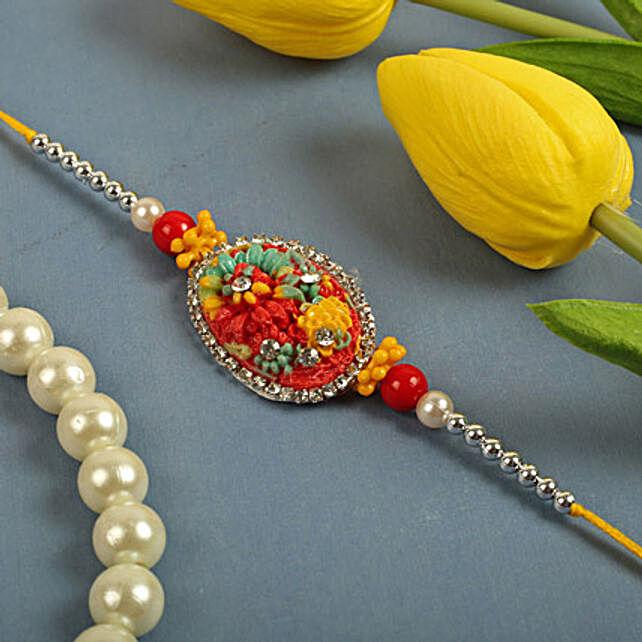 Rainbow Flower Thread