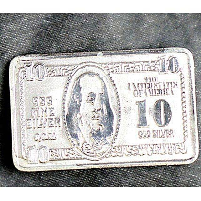 10 Gram Pure Silver 10 Bill Biscuit