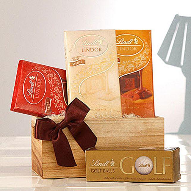 Assorted Lindt Chocolates Hamper