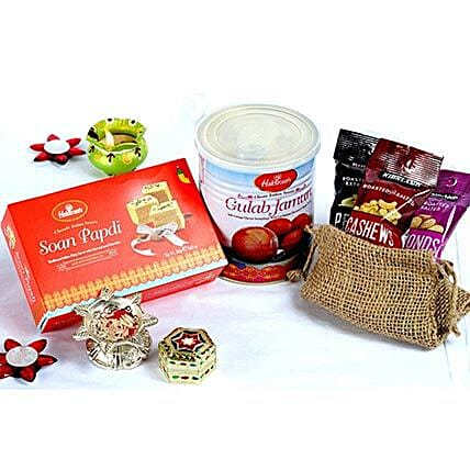Assorted Sweets and Dry Fruits Bhai Dooj Collection