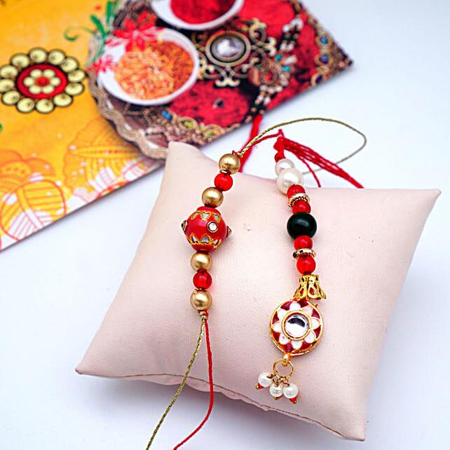 Bunch of Beads Bhaiya Bhabhi ki Rakhi