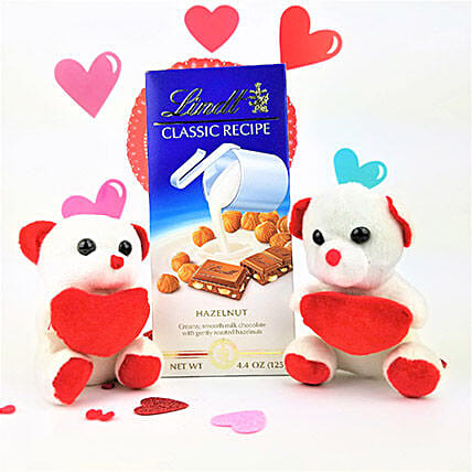 Classic Lindt Chocolate N Teddy Bears