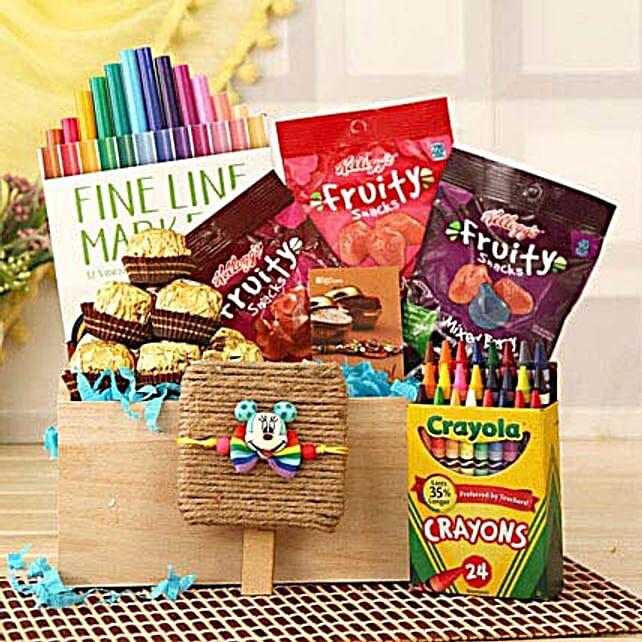 Colorful N Tasty Rakhi For Kids