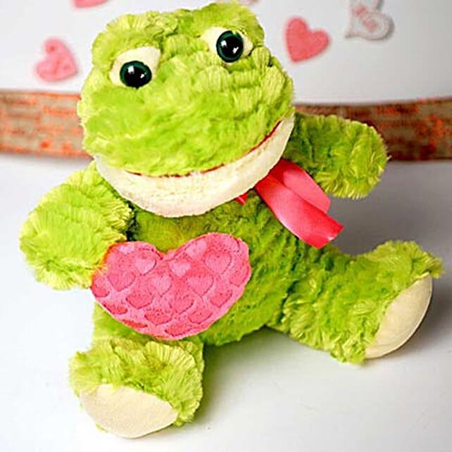 Cute Froggy Soft Toy