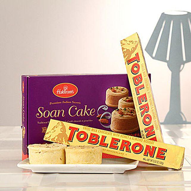 Duo Toblerone Bars N Soan Cake