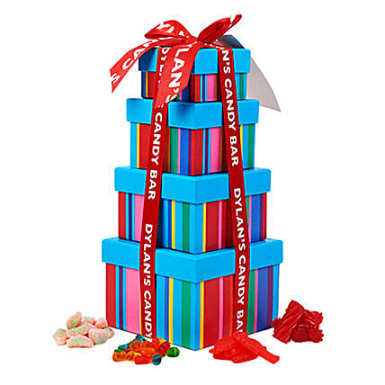 Dylans Yummy Candies Tower