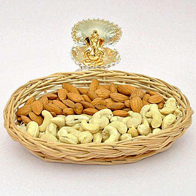 Golden Ganesha N Dry Fruits