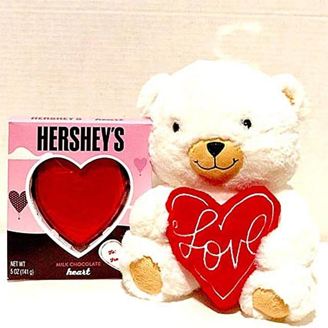 Hersheys N Hallmark Love Bear