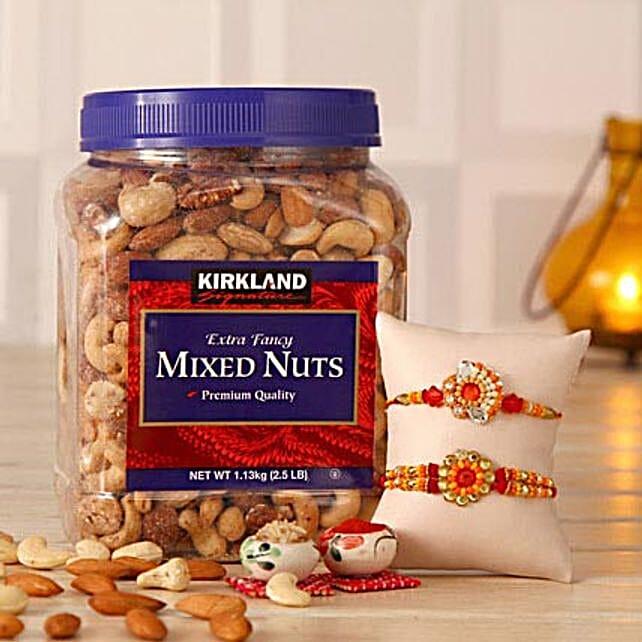 Mixed Nuts N Sparkling Rakhi