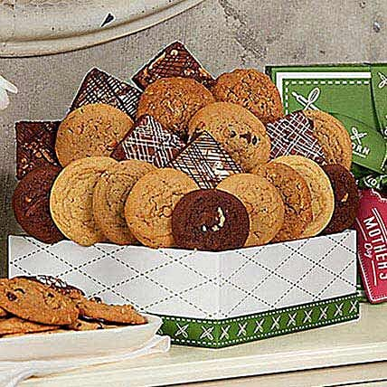 Mothers Day Cookie and Brownie Gift Collection