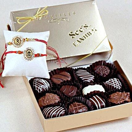 Rakhis with Truffle Chocolates