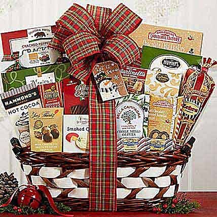 Seasons Greetings Gift Basket