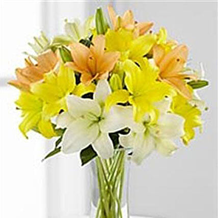 Simple Asiatic Lilies