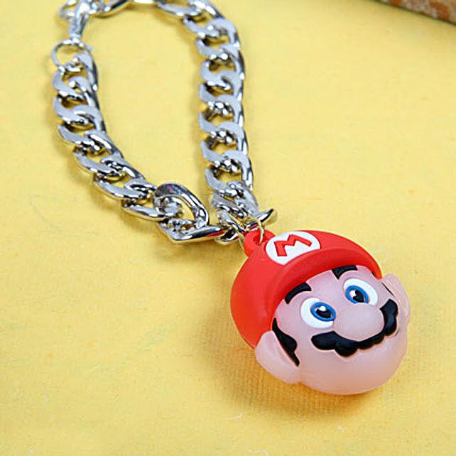 Super Mario Bracelet Rakhi