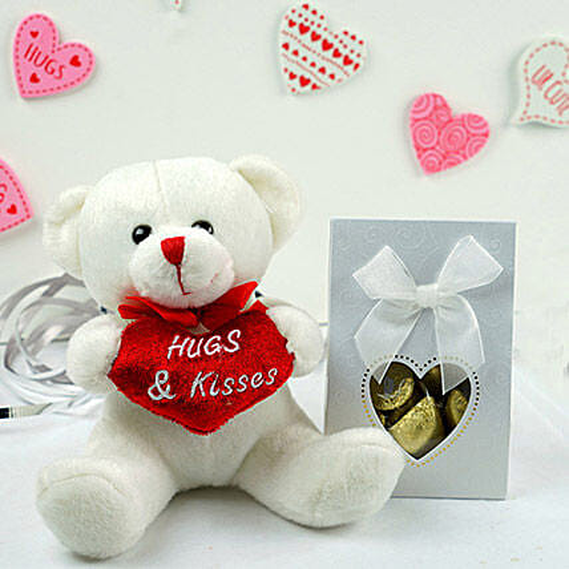 Teddy Bear N Assorted Chocolates