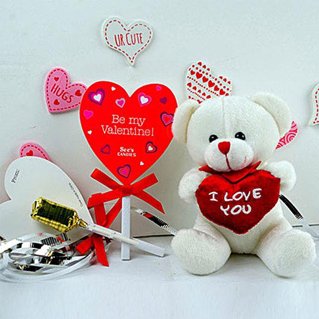 Teddy Bear N Candies Combo
