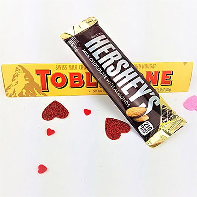 Toblerone N Hersheys Combo
