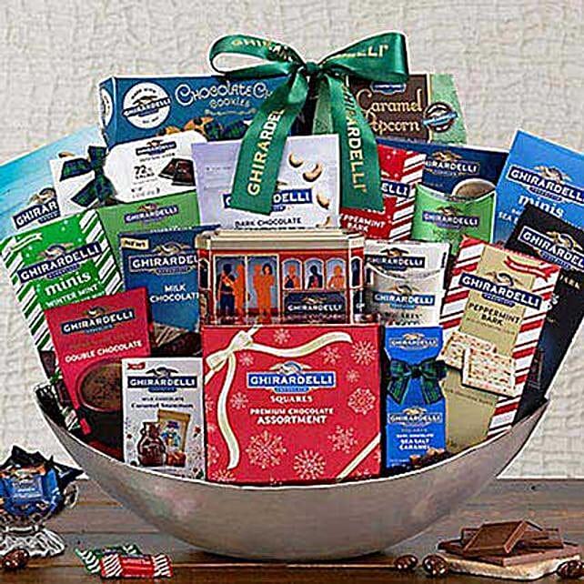 Ultimate Ghirardelli Gift Basket